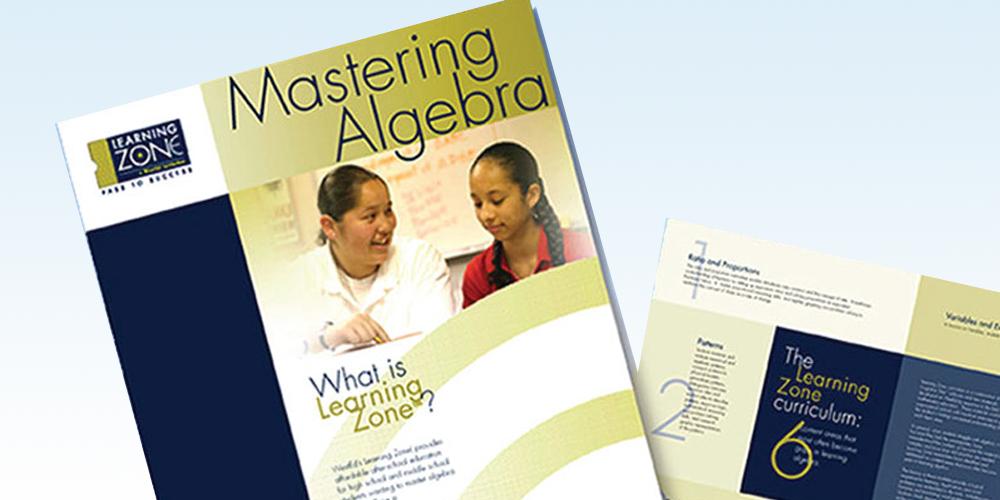 Learning Zone Brochure