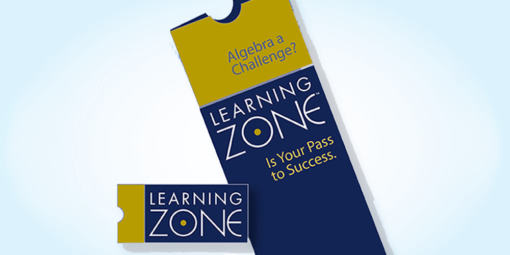 Learning Zone Flyer and Card