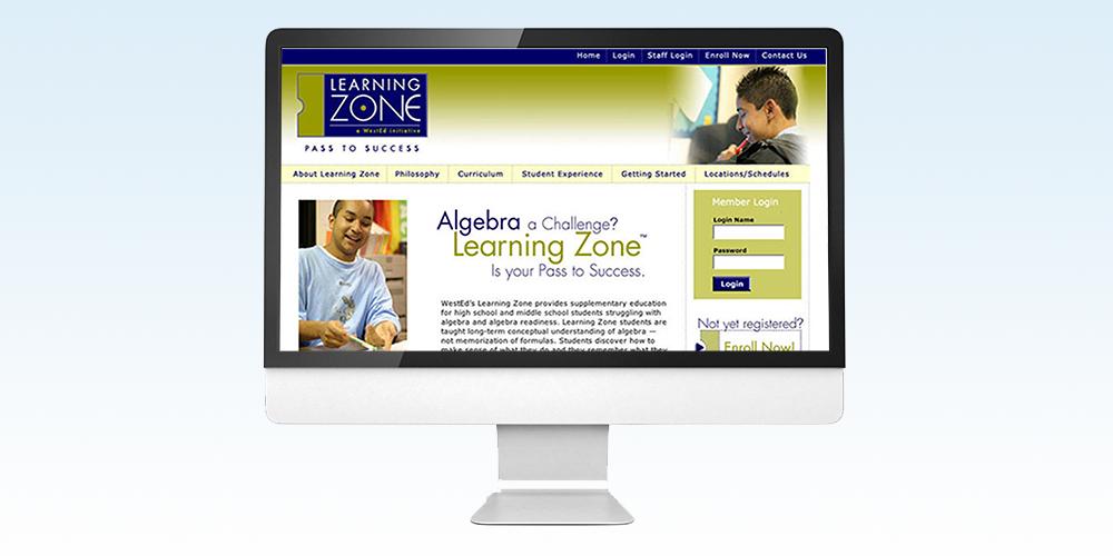 Learning Zone Website