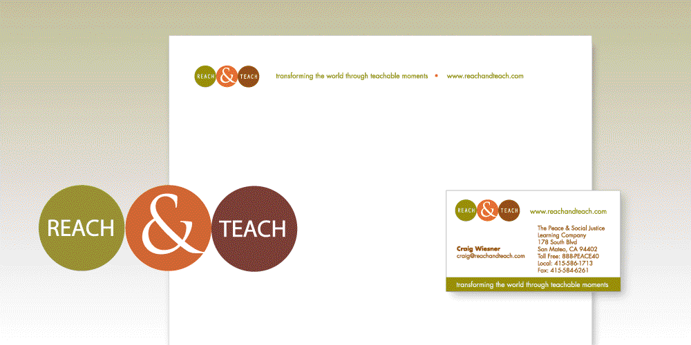Reach and Teach Letterhead