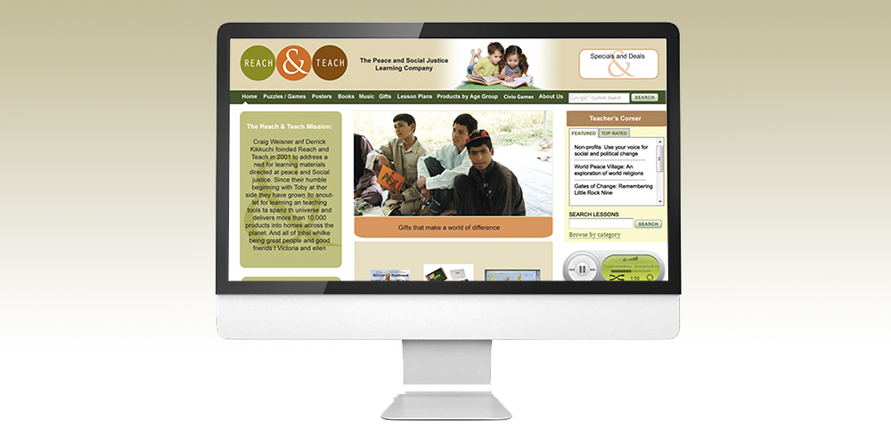 Reach and Teach Website