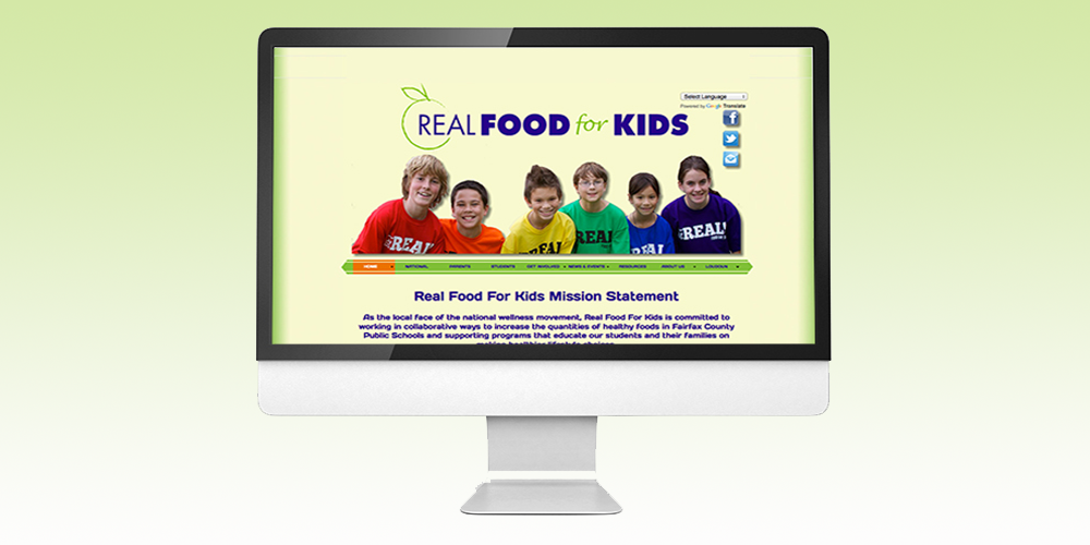 Real Food For Kids Website