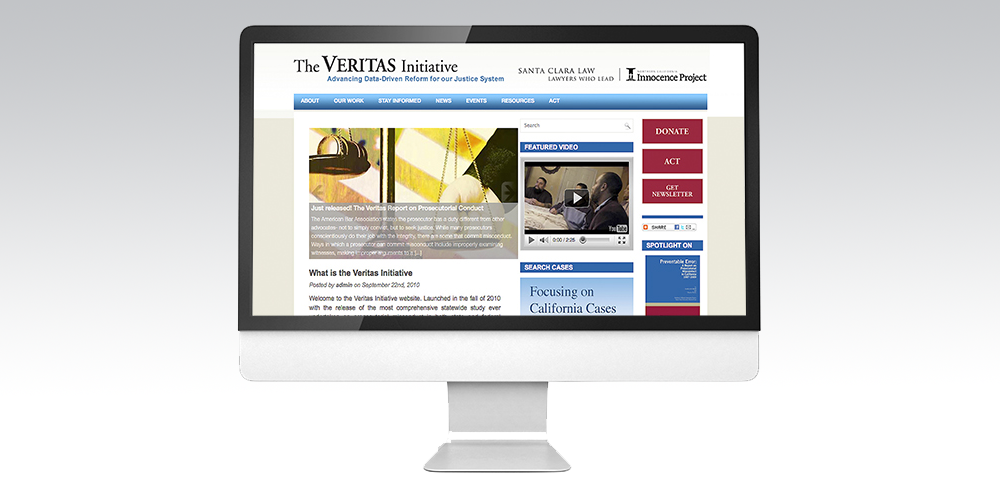 Veritas Website2